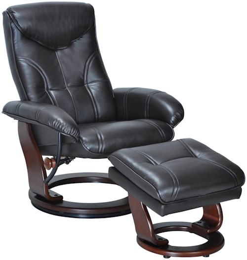 Benchmaster Glasgow Reclining Chair and Ottoman