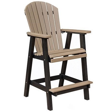 Berlin Gardens Dining Seating Comfo Back Bar Chair