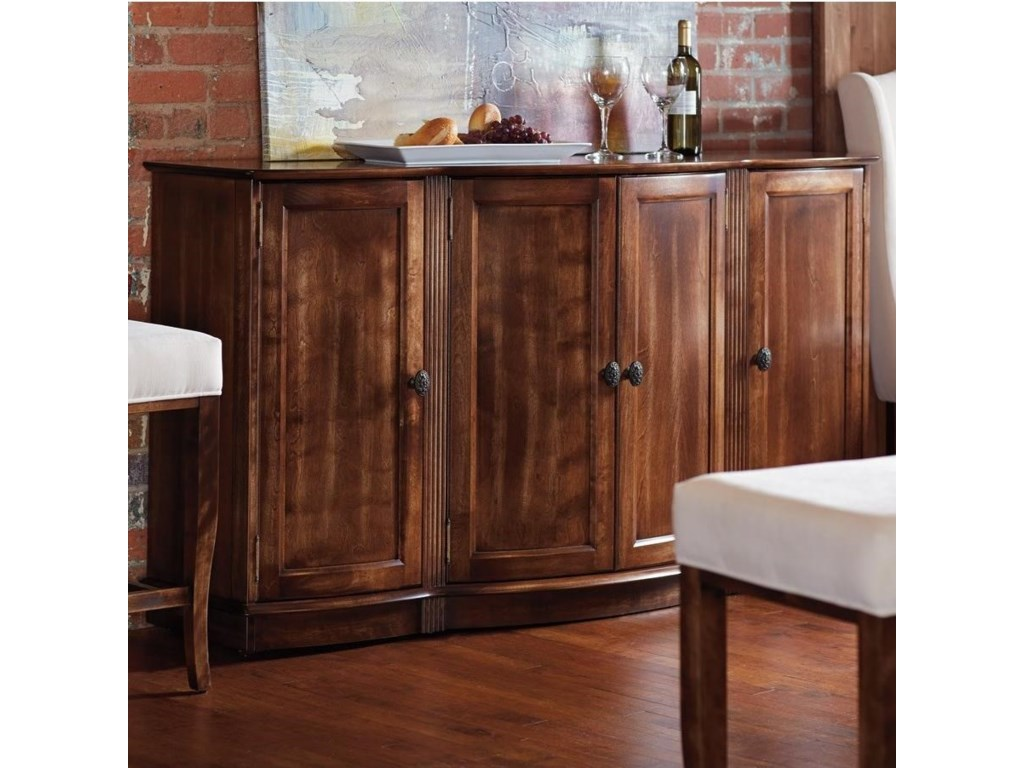Bermex Buffets Customizable Dining Buffet With 4 Doors Stoney