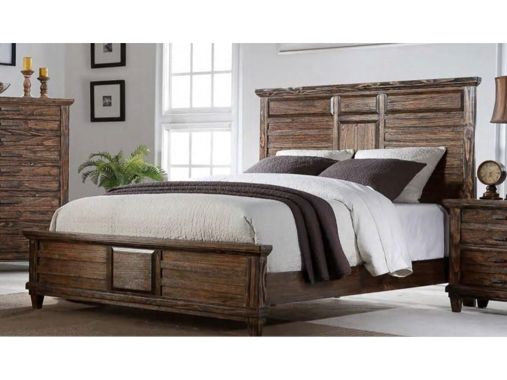 Bernards CortezKing Bed