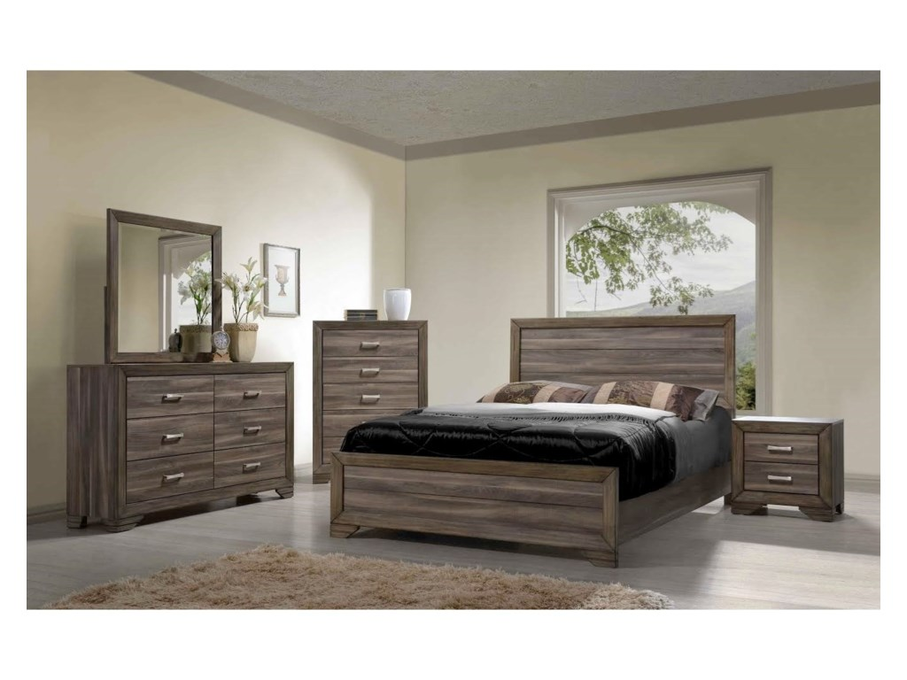 Bernards AshevilleQueen Bedroom Group