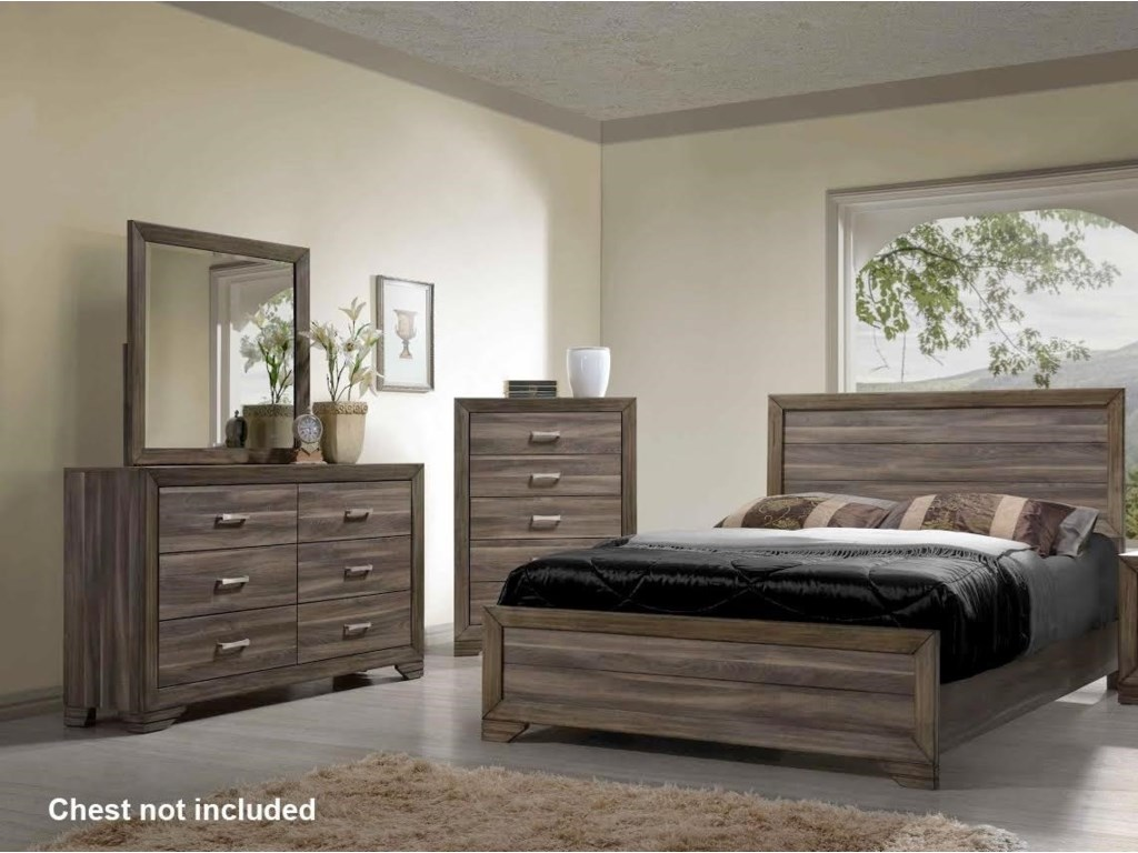 Bernards AshevilleKing Bedroom Group