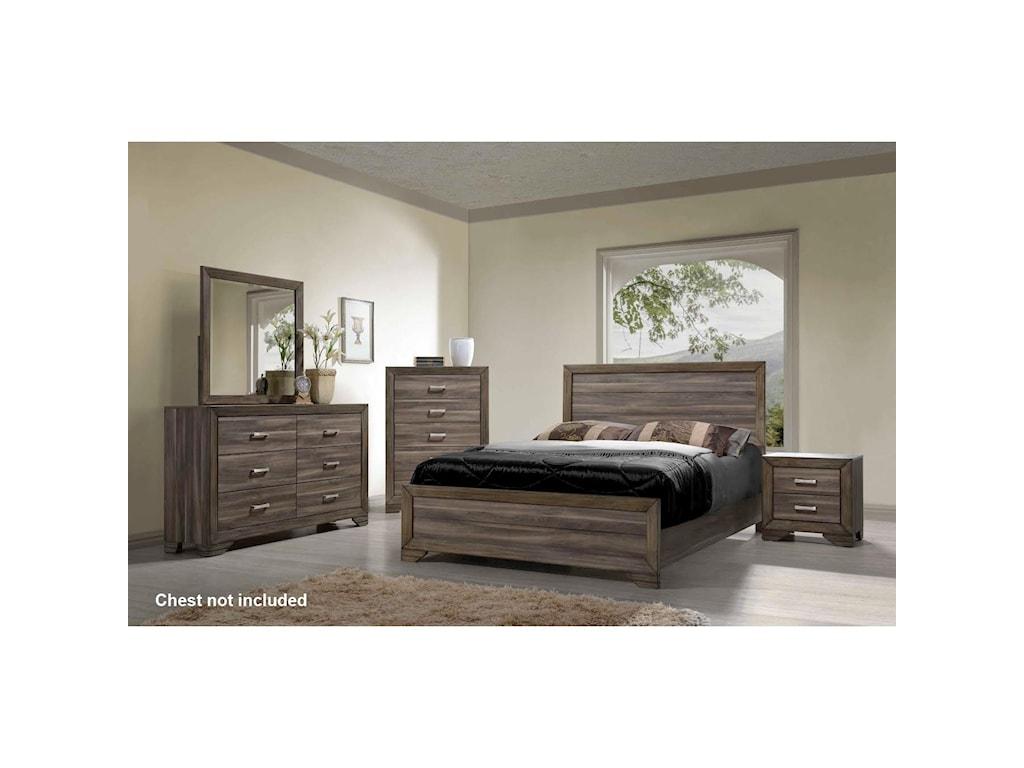 Bernards AshevilleQueen Bedroom Group