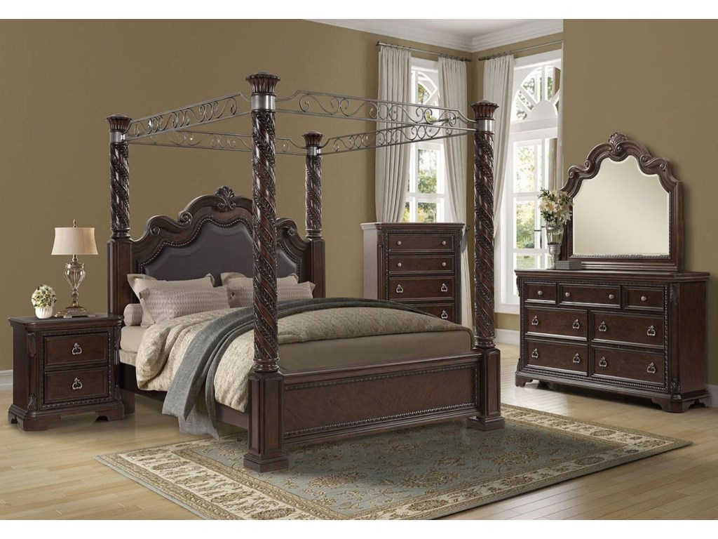Bernards CoventryCoventry 5 Pc Queen Bedroom