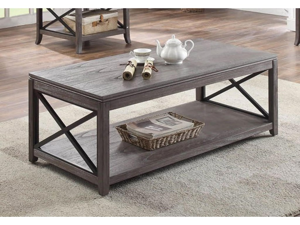 Bernards MelbourneCocktail Table with Casters