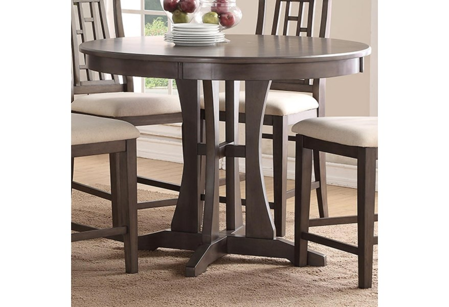 48 Inch Round Counter Dining Table
