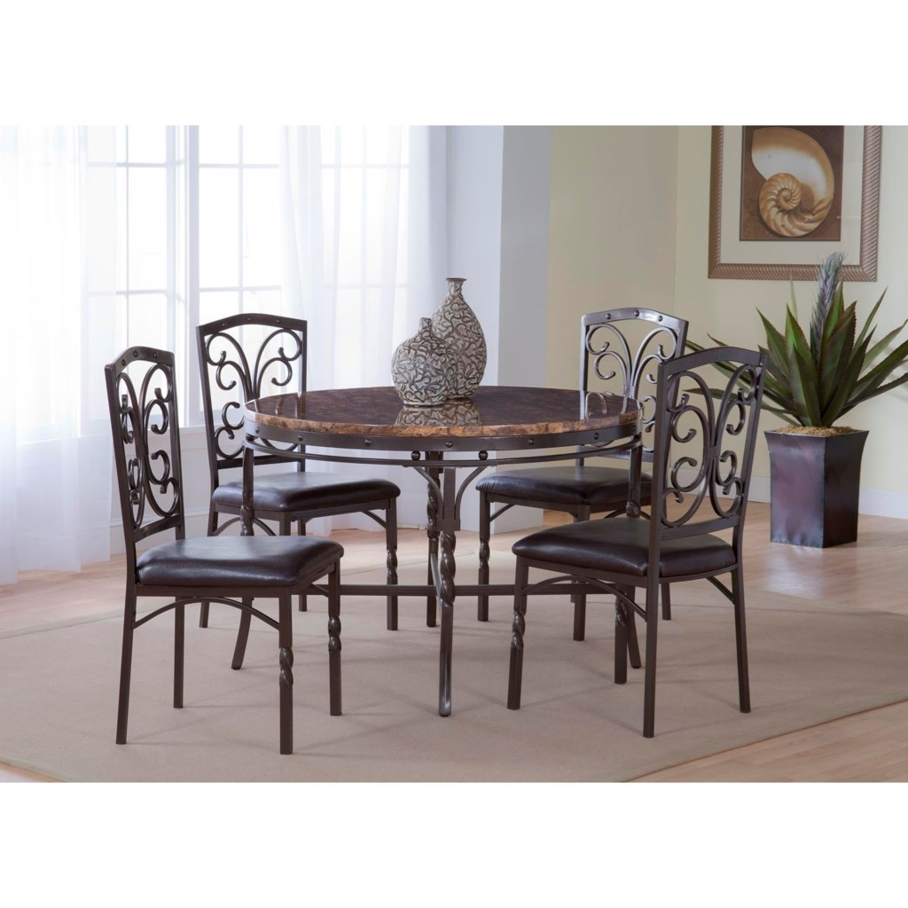 tuscan faux marble dinette table   morris home   kitchen tables Dinette Table