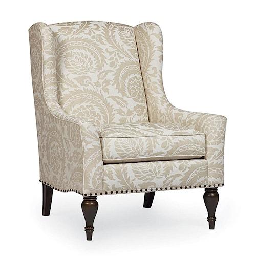 Bernhardt Belgian Oak Sofia Upholstered Chair