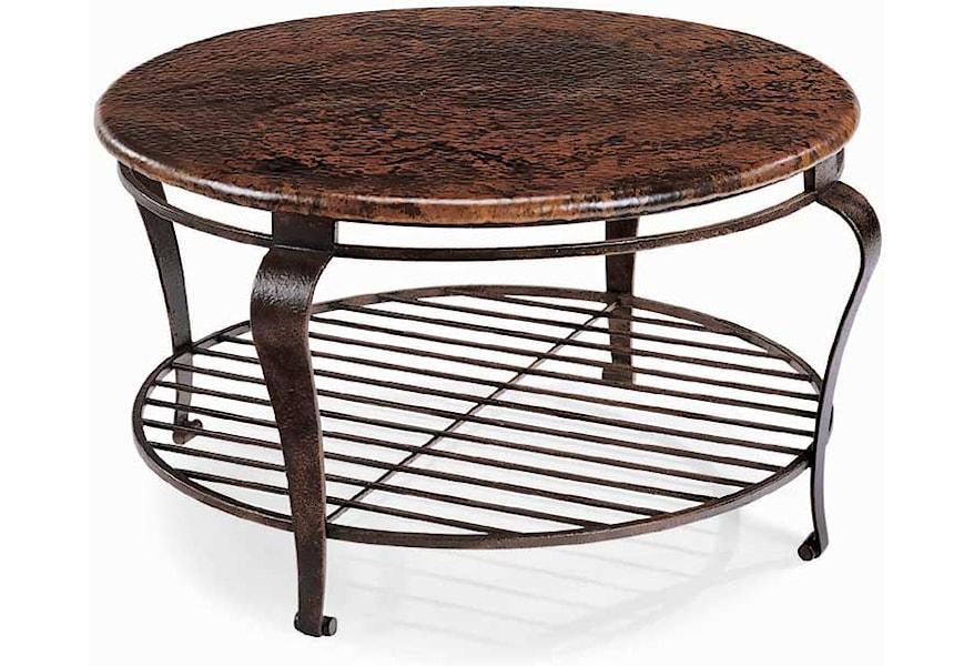 Bernhardt Clark Round Cocktail Table Belfort Furniture Cocktail Coffee Tables