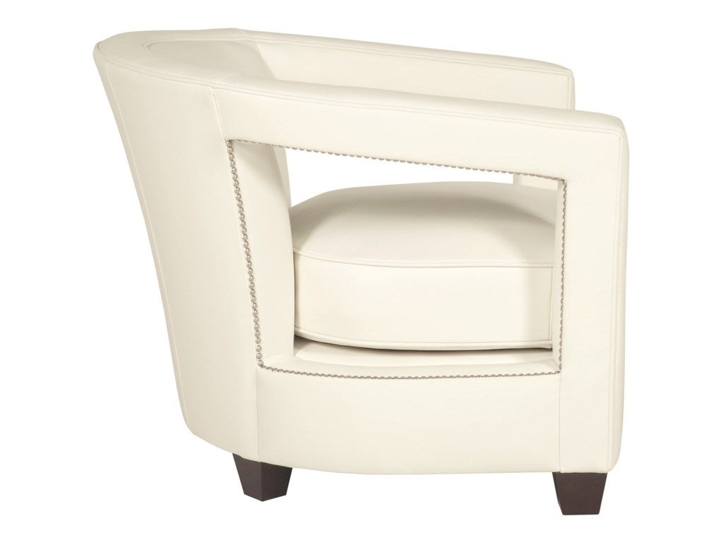 Bernhardt AlanaContemporary Chair with Nailheads