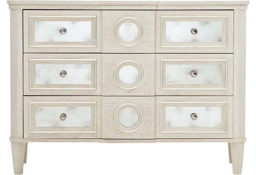 Allure Transitional 3 Drawer Hall Chest