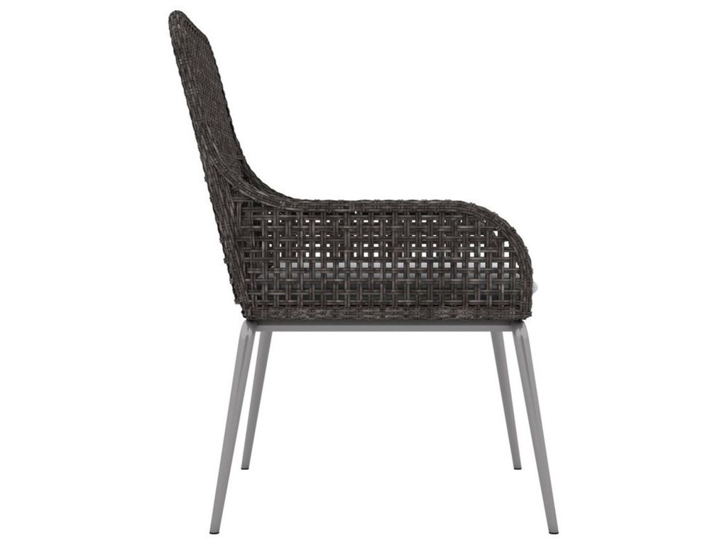 Bernhardt Exteriors - AntillesOutdoor/Indoor Wicker Arm Chair