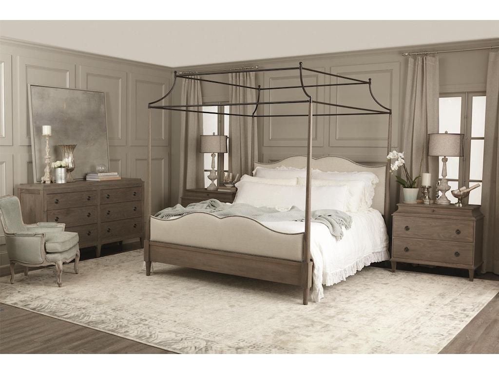 Bernhardt AubergeKing Canopy Bed