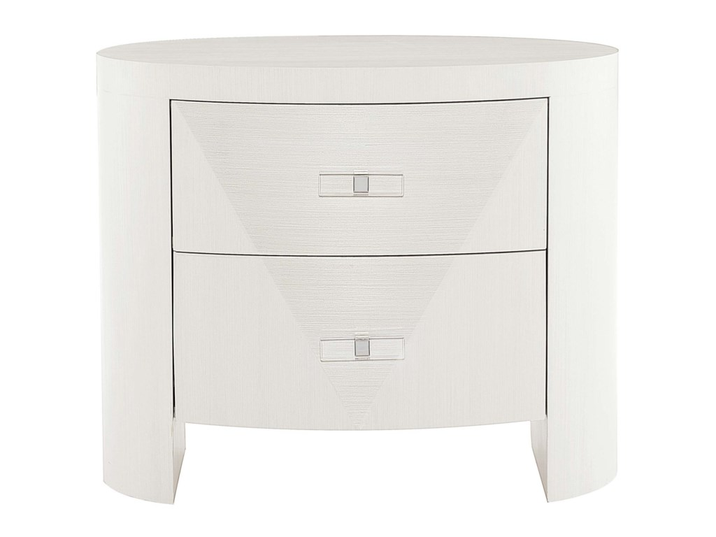 Bernhardt AxiomOval Nightstand