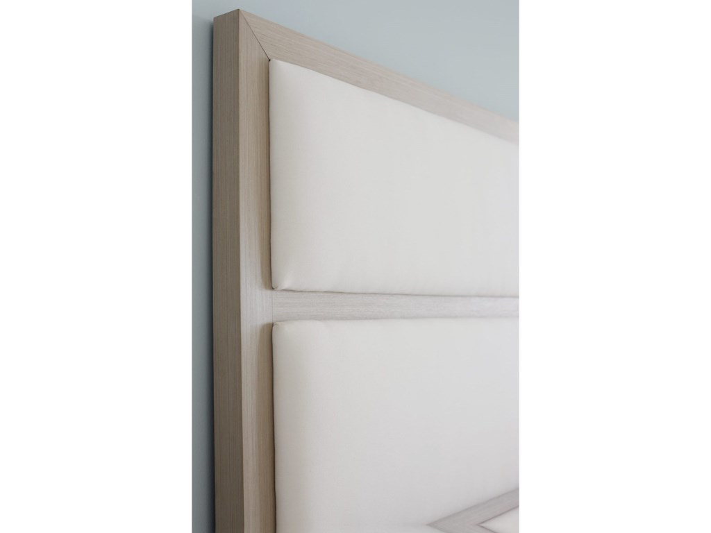 Bernhardt AxiomCalifornia King Upholstered Panel Bed