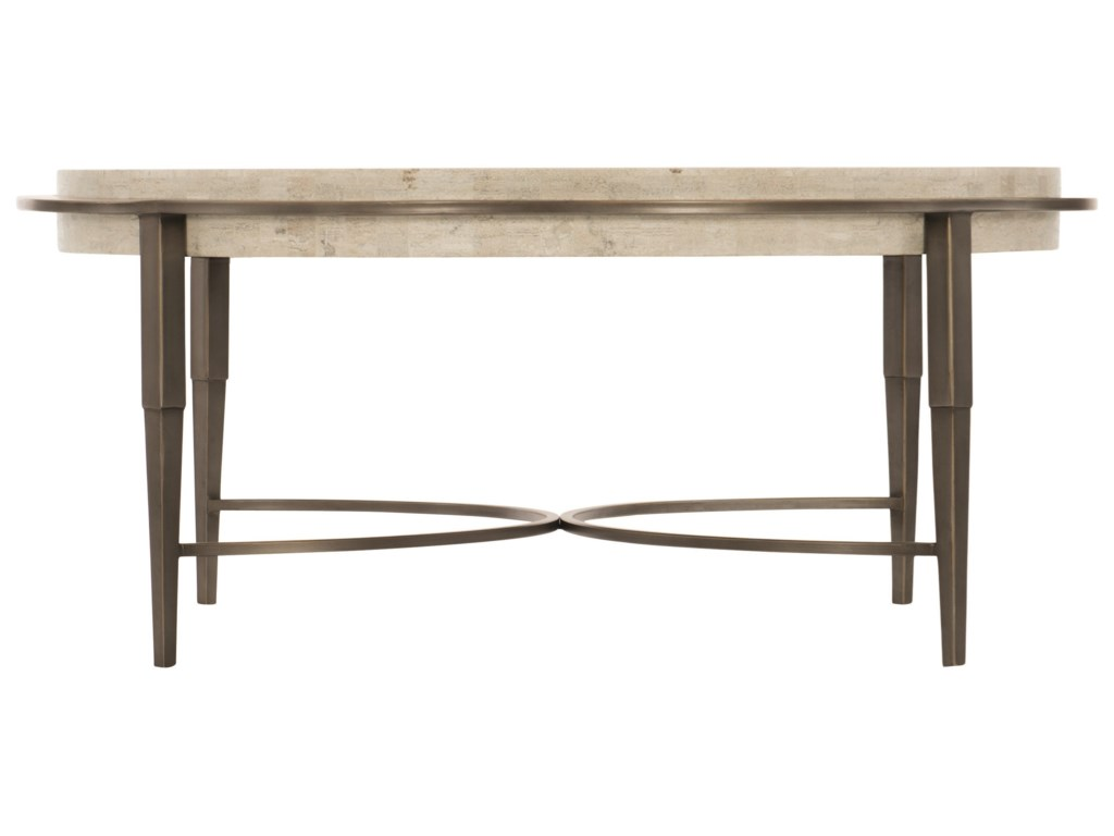 Bernhardt BarclayMetal Round Cocktail Table