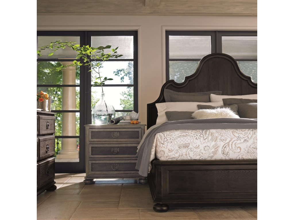 Shown with Coordinating Collection Panel Bed and Nightstand