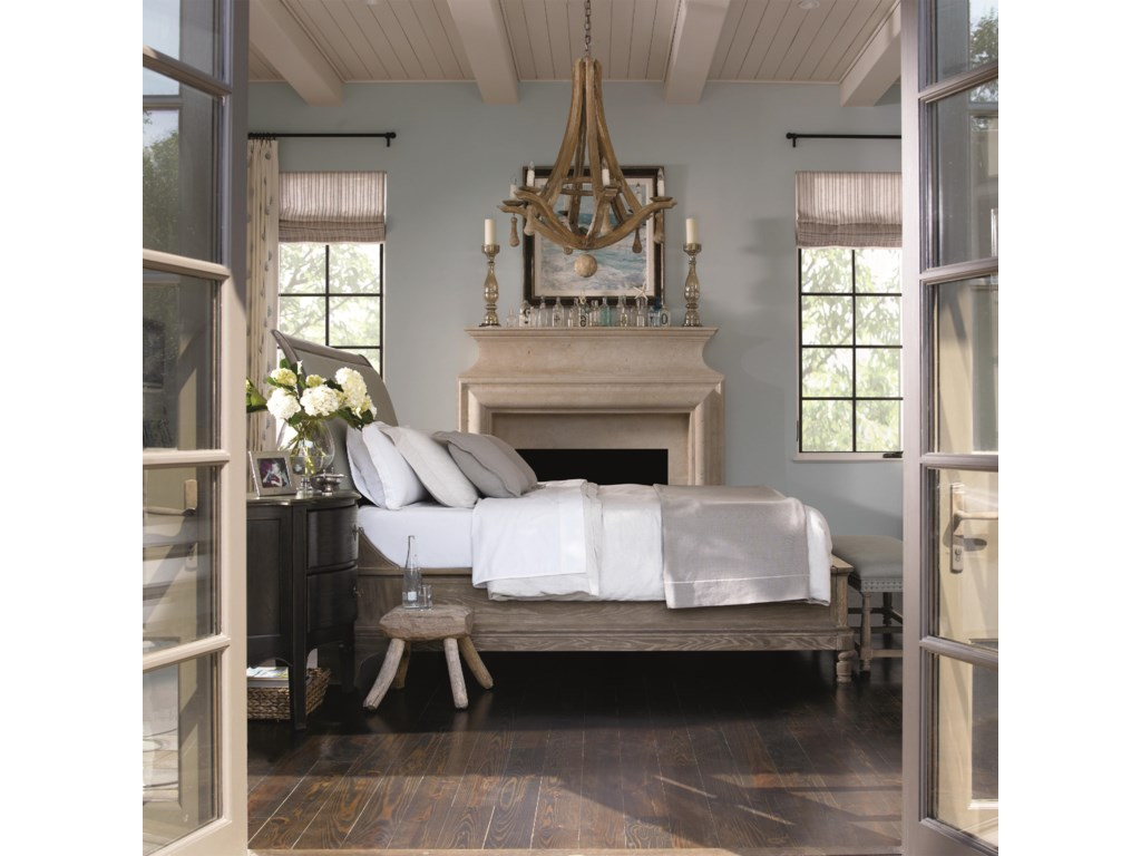 Shown with Coordinating Collection Bachelor's Chest and Bench. Bed Shown May Not Represent Size Indicated.