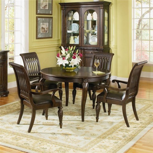 Table And 4 Chair Dining Set Bernhardt Belmont 48