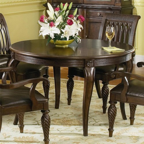 Tables Bernhardt Belmont Round Dining Table 48