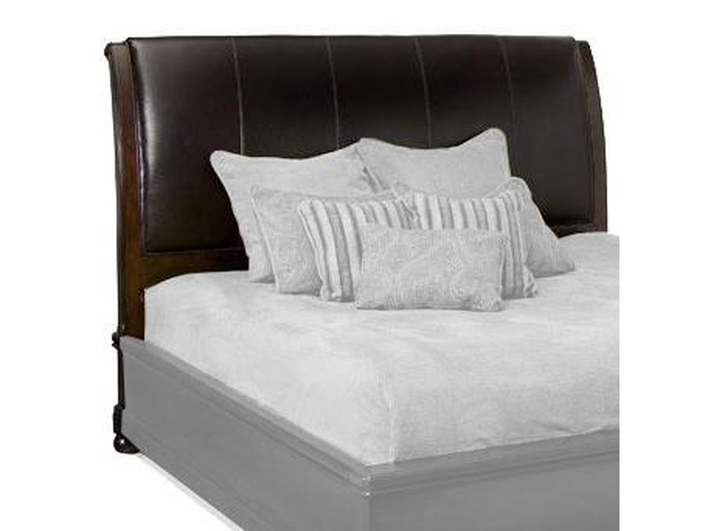 quality design a2589 f9acd Bernhardt Belmont 389-H35 California King-Size Leather ...