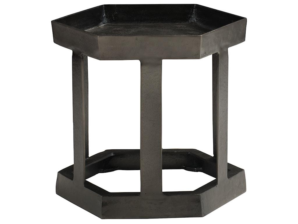 Bernhardt BensonHexagon Chairside Table