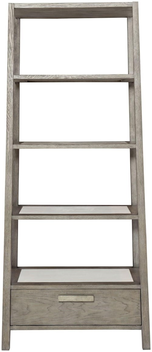 Bernhardt Bernhardt Interiors - Chilton Two-Toned Etagere with Drawer