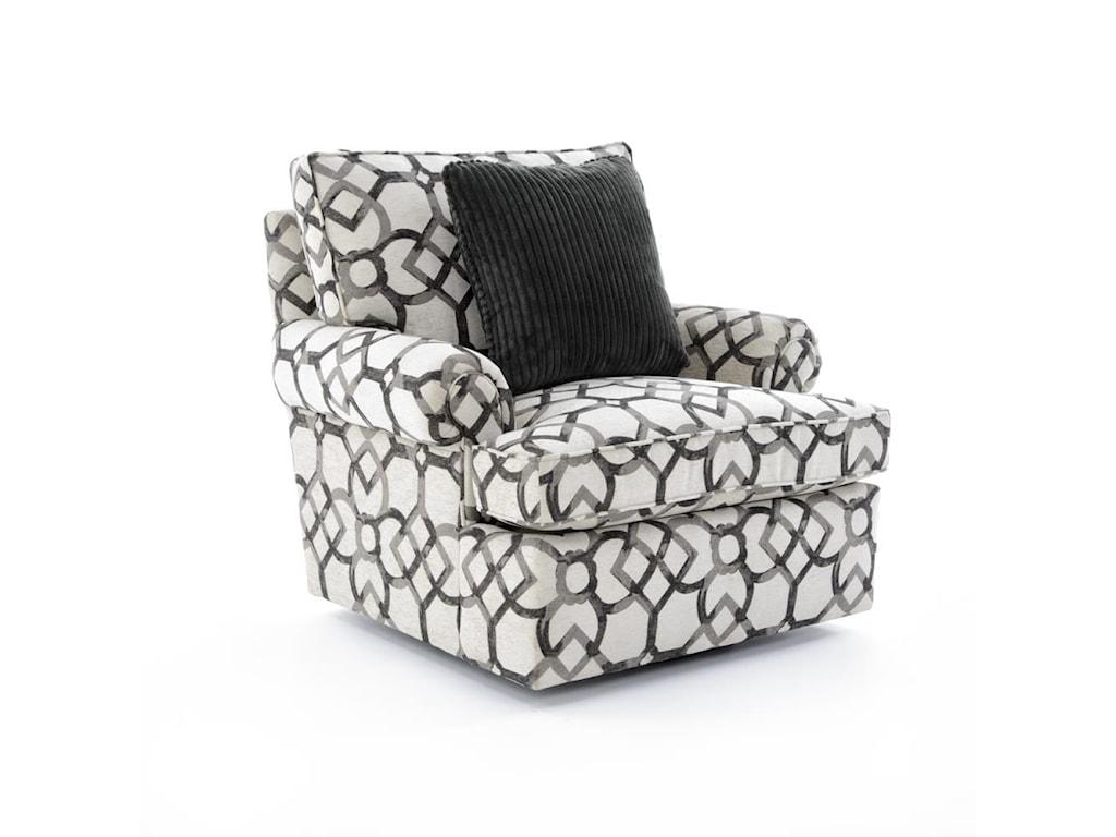 Bernhardt Signature SeatingCustomizable Swivel Chair