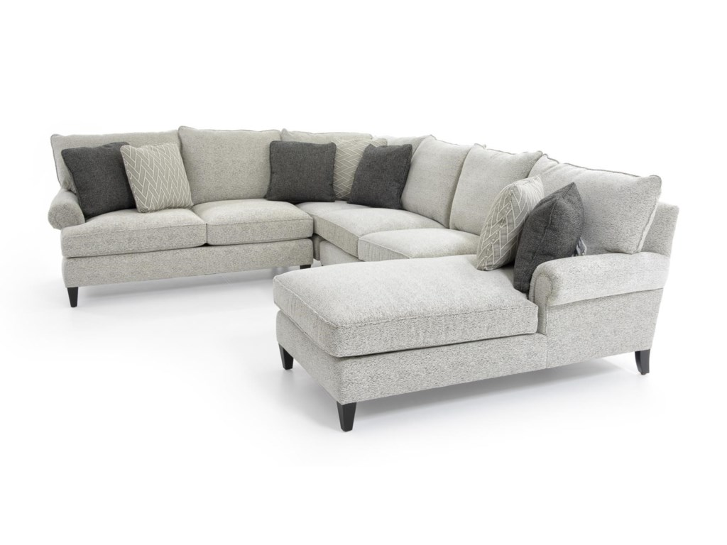 Bernhardt Signature SeatingCustomizable Sectional w/ Chaise