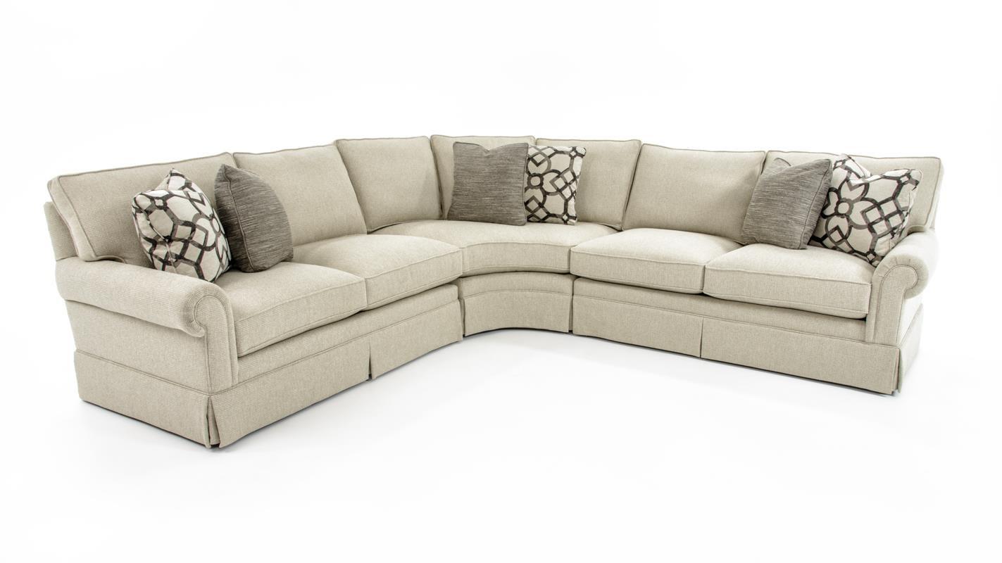Bernhardt Signature Seating4 Pc Sectional Sofa ...