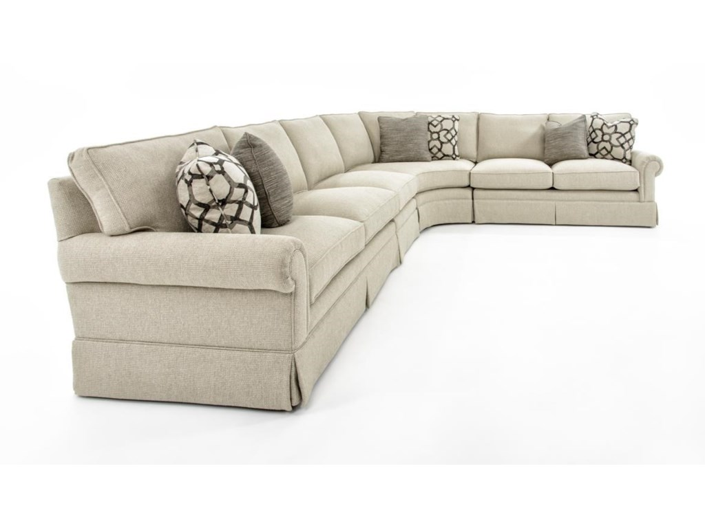 Bernhardt Signature Seating4 Pc Sectional Sofa