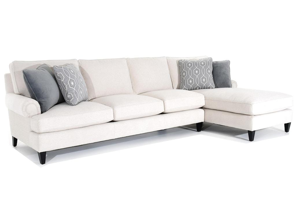 Bernhardt Signature SeatingCustomizable Sofa with Chaise