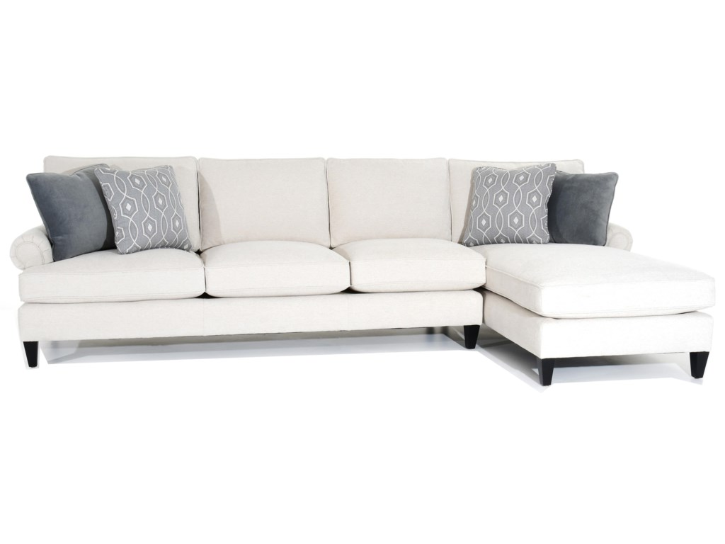 Bernhardt Signature SeatingCustomizable Sofa with Chaise