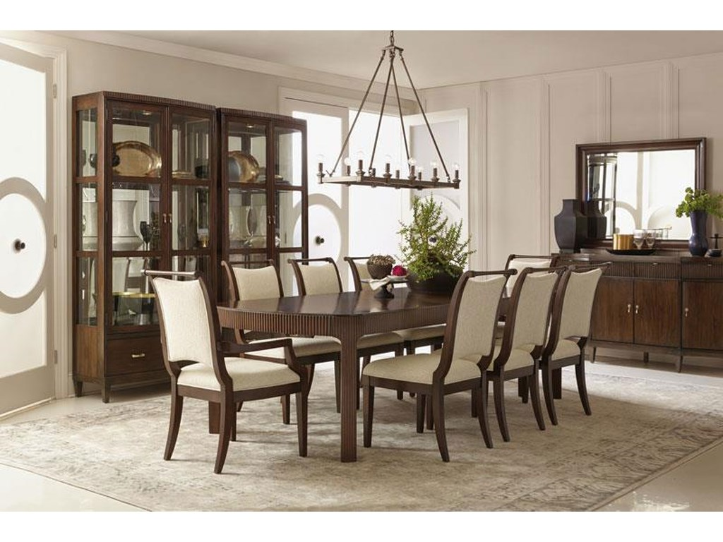 Bernhardt Beverly Glen9 Piece Dining Set