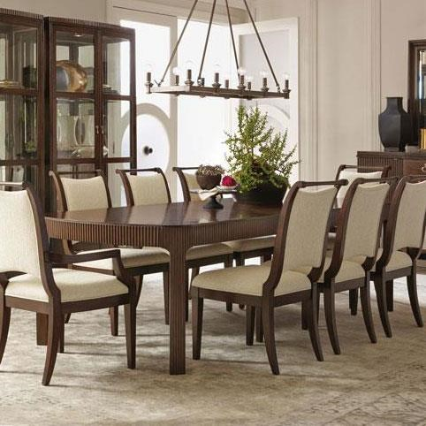 Bernhardt Beverly Glen Dining Table With Fluted Legs Part 93