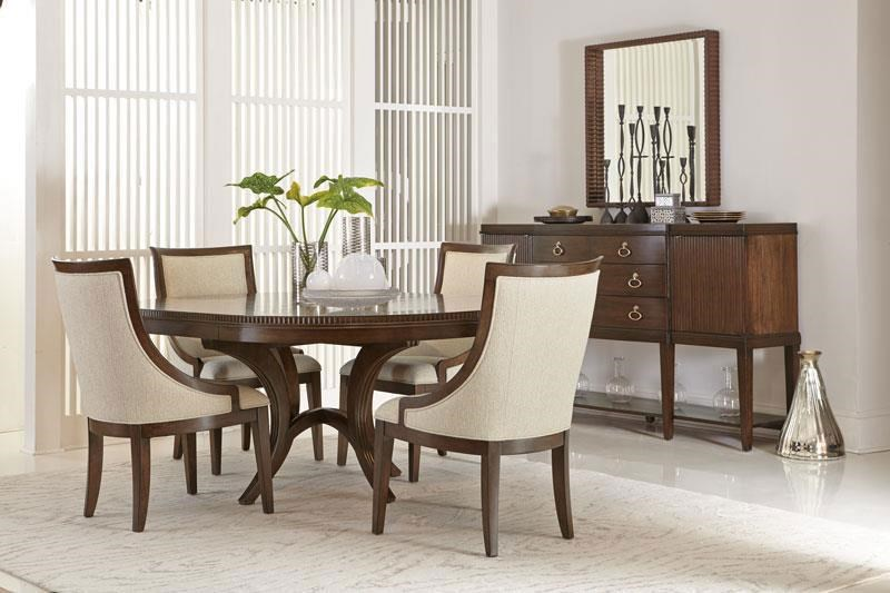Bernhardt Beverly GlenRound Dining Table; Bernhardt Beverly GlenRound  Dining Table