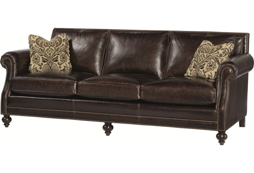 Bernhardt Brae High End Sofa with Traditional Style ...