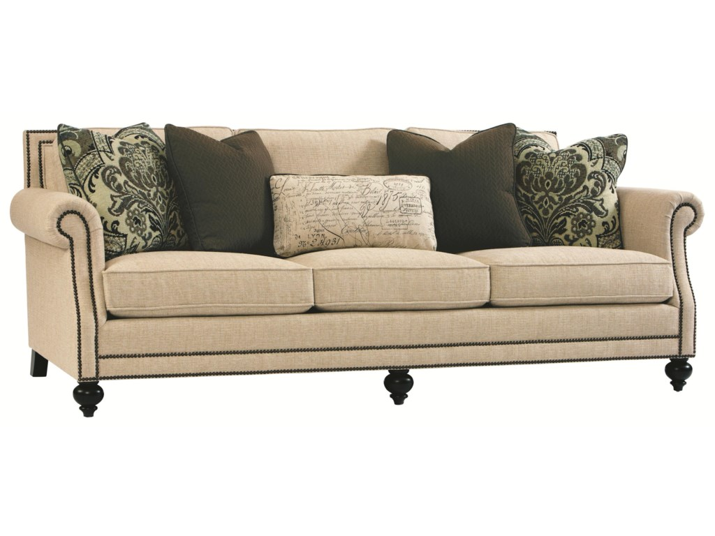 Brae Elegant and Traditional Living Room Sofa with High End Furniture Style  by Bernhardt at Wayside Furniture