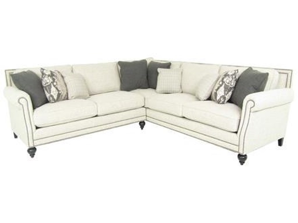 Bernhardt BraeSectional Sofa