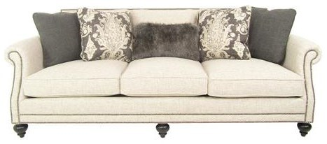 Charmant Bernhardt Brae Elegant And Traditional Living Room Sofa With High End  Furniture Style