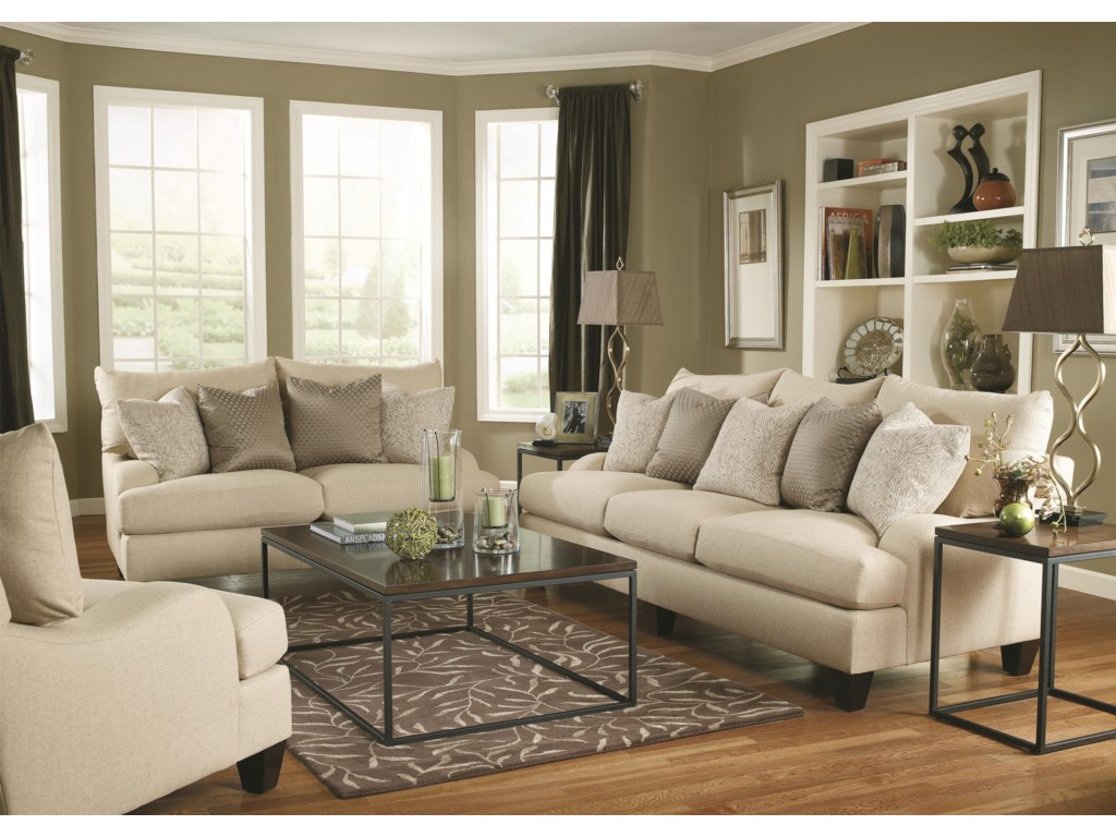 Shown with Upholstered Sofa