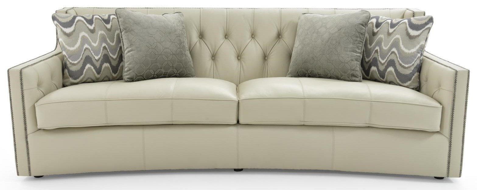 """89"""" Sofa with Transitional Elegance"""