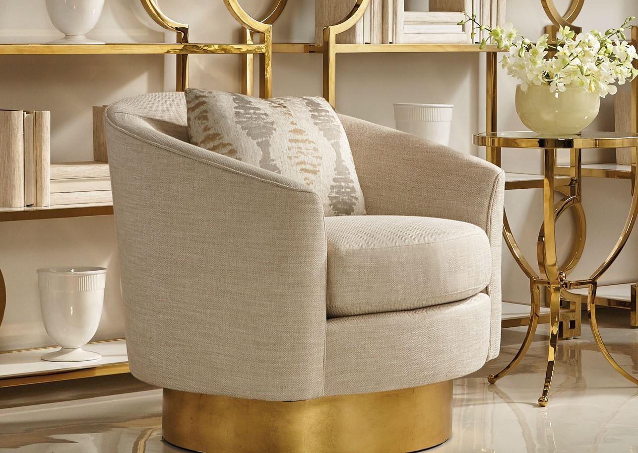 Camino Swivel Chair By Bernhardt