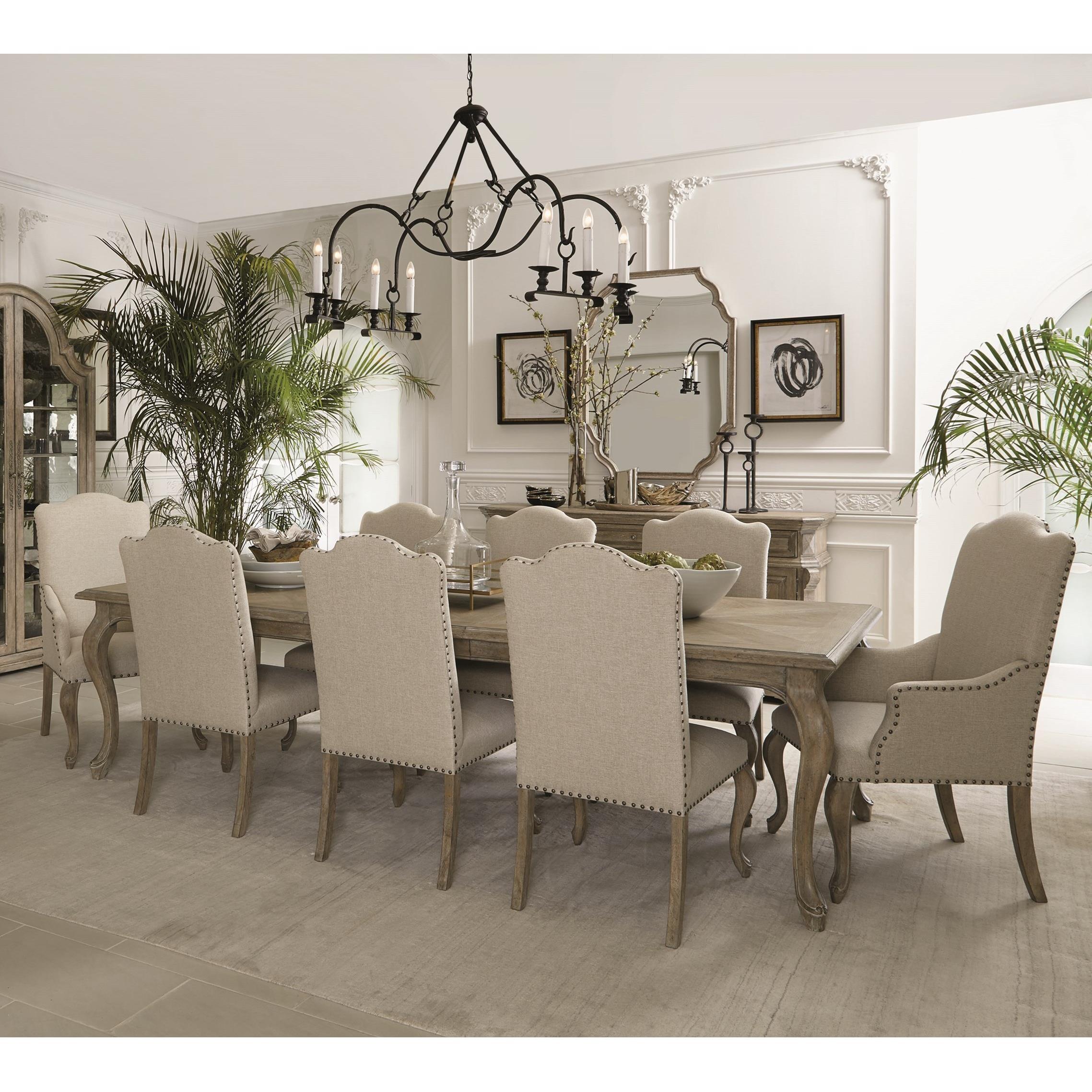 Bernhardt Campania9 Piece Dining Set ...