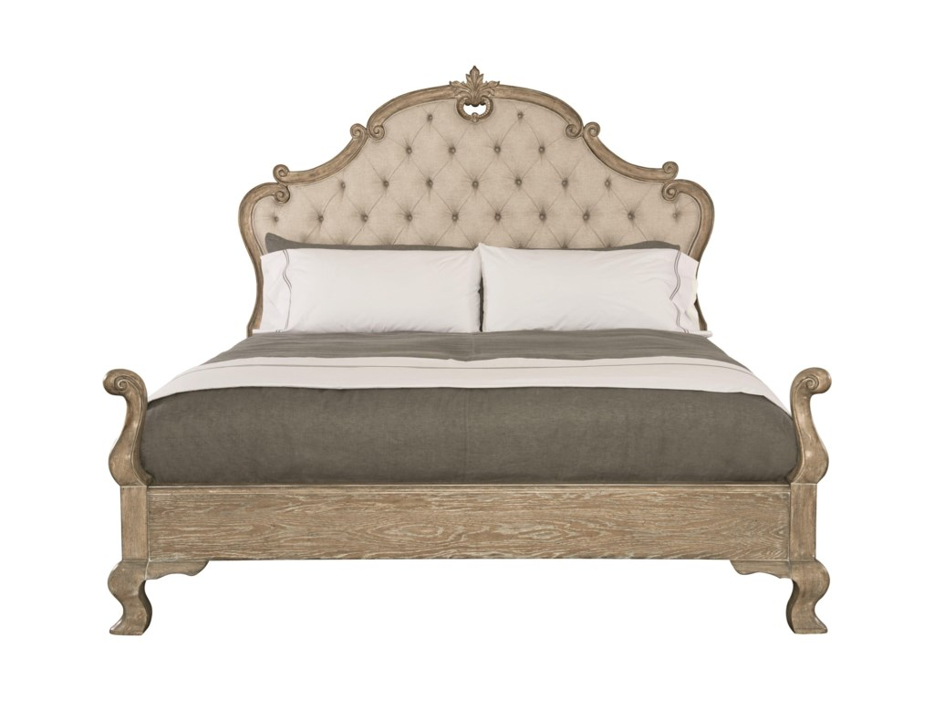 Bernhardt CampaniaKing Upholstered Panel Bed