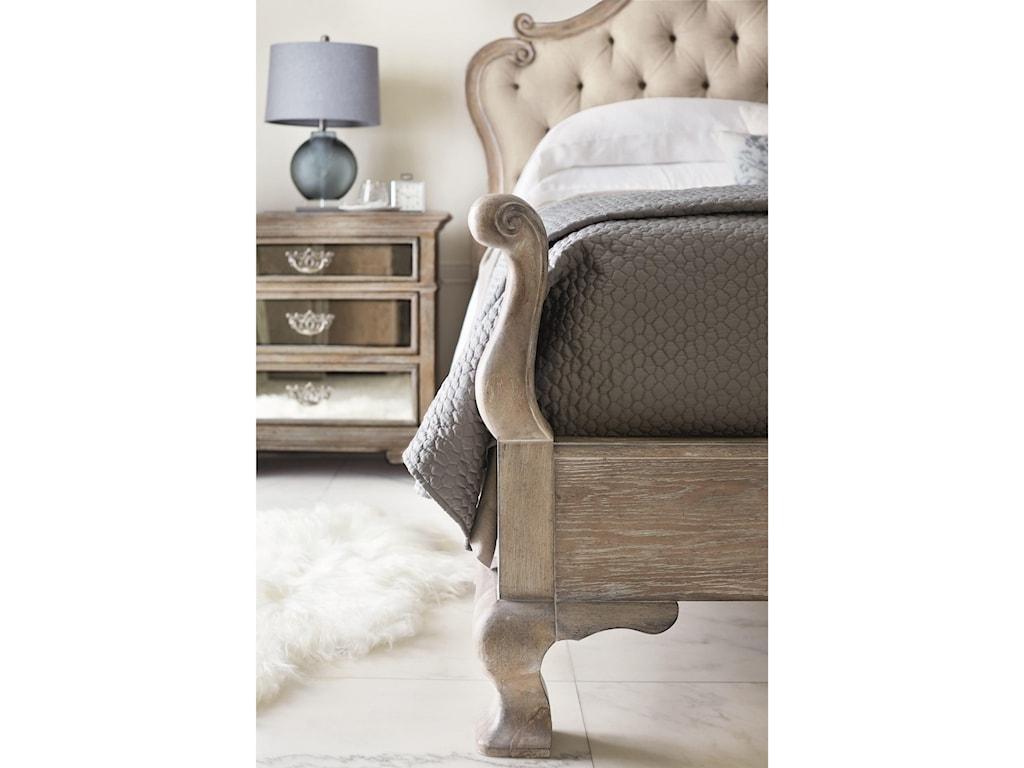 Bernhardt CampaniaKing Upholstered Panel Bed