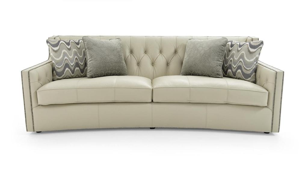 Bernhardt Candace Sofa with Transitional Elegance Baer s