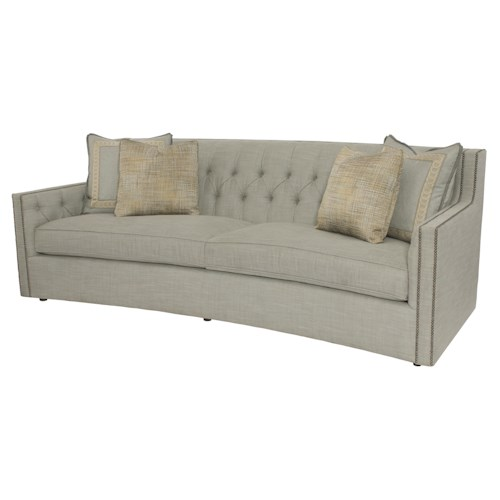 Bernhardt Candace Sofa with Transitional Elegance