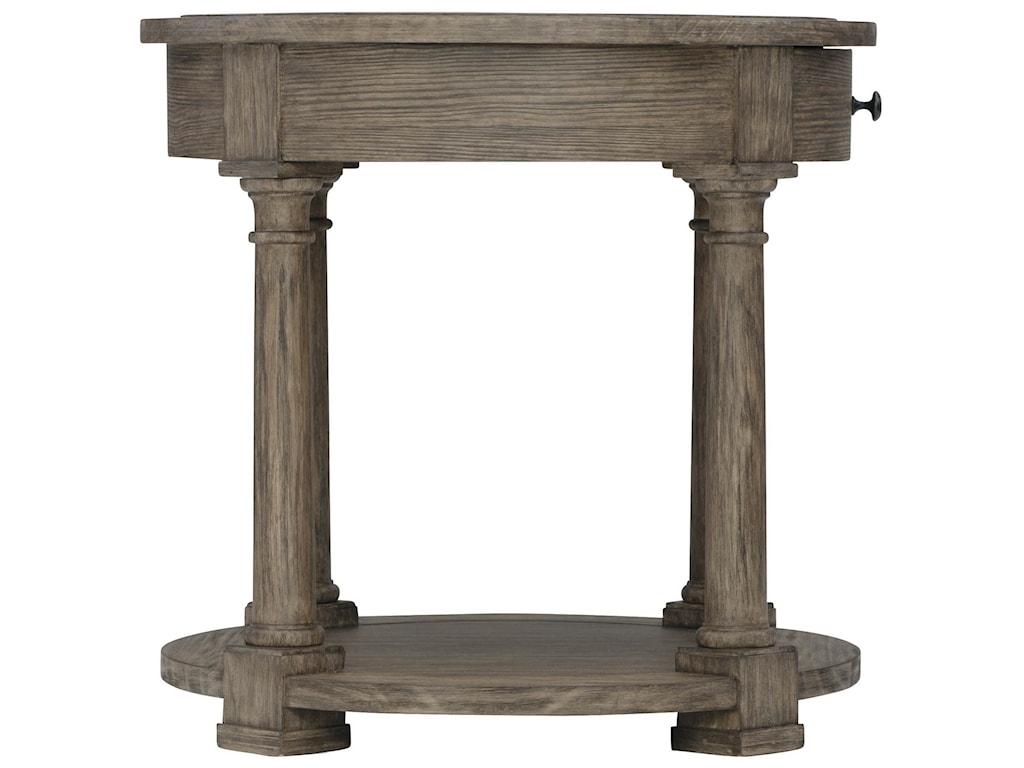 Bernhardt Canyon RidgeRound Side Table
