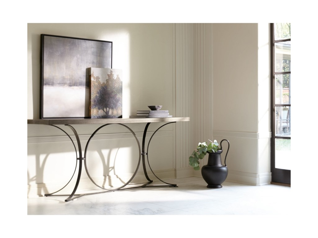 Bernhardt Canyon RidgeMetal Console Table
